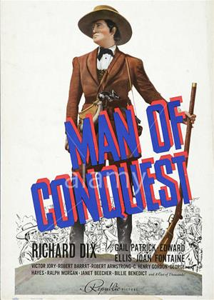 Man of Conquest Online DVD Rental