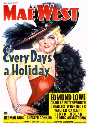 Every Day's a Holiday Online DVD Rental