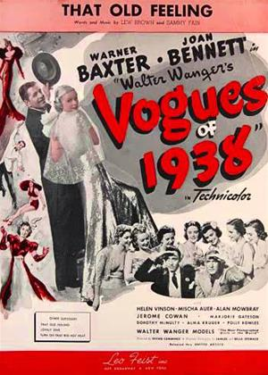 Vogues of 1938 Online DVD Rental