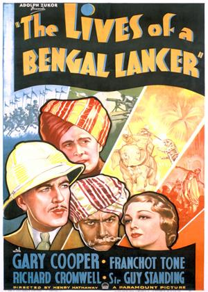 The Lives of a Bengal Lancer Online DVD Rental