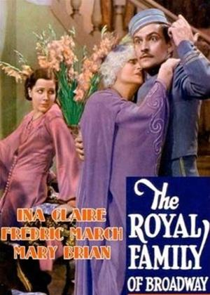 The Royal Family of Broadway Online DVD Rental