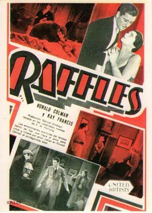 Raffles Online DVD Rental