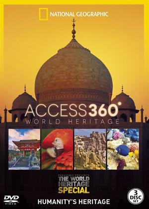 National Geographic: Access 360: World Heritage Online DVD Rental