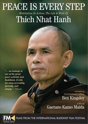 Rent Peace Is Every Step: Meditation in Action: The Life and Work of Thich Nhat Hanh Online DVD Rental