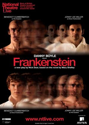 National Theatre Live: Frankenstein Online DVD Rental
