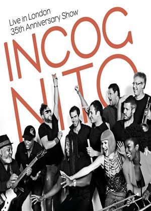 Incognito: Live in London: 35th Anniversary Show Online DVD Rental