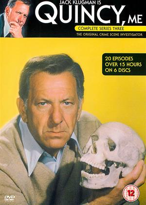Quincy M.E.: Series 3 Online DVD Rental