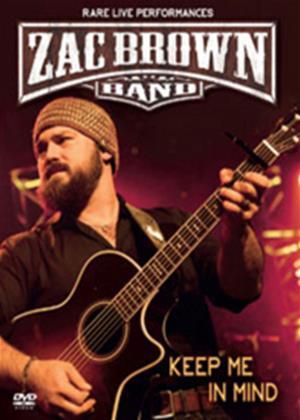 Rent Zac Brown Band: Keep Me in Mind Online DVD Rental