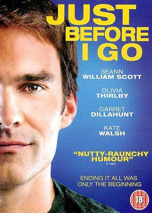 Just Before I Go Online DVD Rental