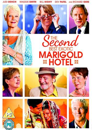The Second Best Exotic Marigold Hotel Online DVD Rental
