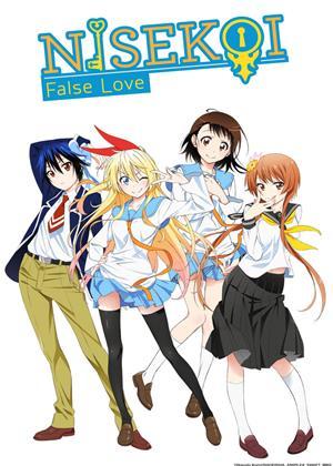 Rent Nisekoi: False Love: Series 1: Part 2 Online DVD Rental