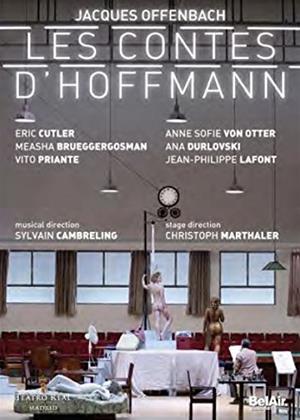 Rent The Tales of Hoffman: Teatro Real De Madrid (Cambreling) Online DVD Rental