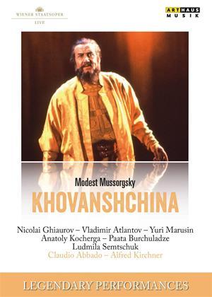 Khovanshchina: Wiener Staatsoper (Abbado) Online DVD Rental