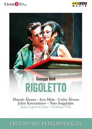 Rigoletto: Gran Teatre del Liceu (López-Cobos) Online DVD Rental
