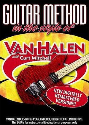 Rent Guitar Method: In the Style of Van Halen/With Curt Mitchell Online DVD Rental