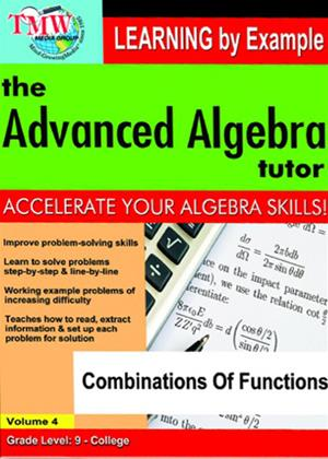 The Advanced Algebra Tutor: Combinations of Functions Online DVD Rental