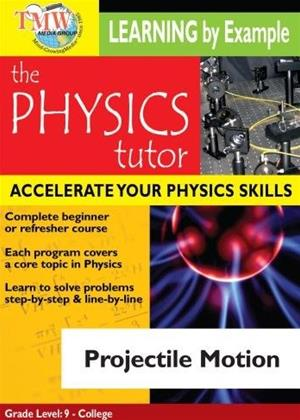 Physics Tutor: Projectile Motion Online DVD Rental