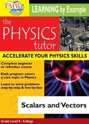 The Physics Tutor: Scalars and Vectors Online DVD Rental