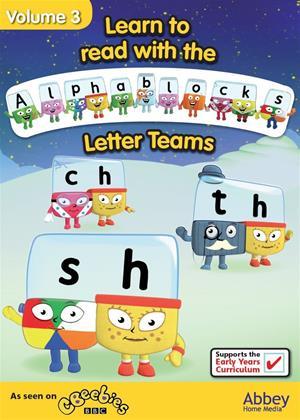 Rent Alphablocks: Vol.3: Letter Teams Online DVD Rental