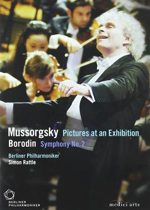 Rent Mussorgsky: Pictures at an Exhibition / Borodin: Symphony Online DVD Rental