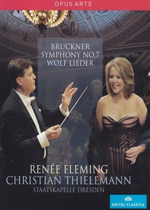 Rent Bruckner/Wolf: Symphony No.7 / Lieder (Thielemann) Online DVD Rental