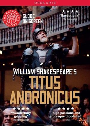 Rent Titus Andronicus: Shakespeare's Globe Online DVD Rental