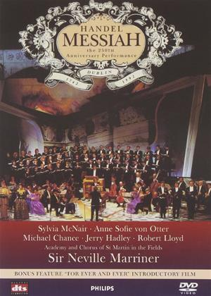 Rent Handel: Messiah: Academy of St Martin-In-The-Fields Online DVD Rental