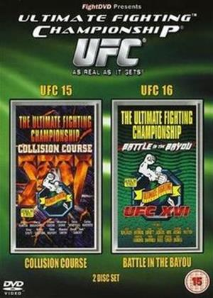 Rent UFC 15 and UFC 16 Online DVD Rental