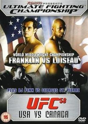 UFC 58: Usa Vs Canada Online DVD Rental