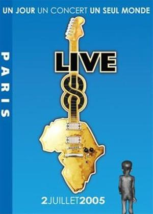 Live 8: Paris Online DVD Rental