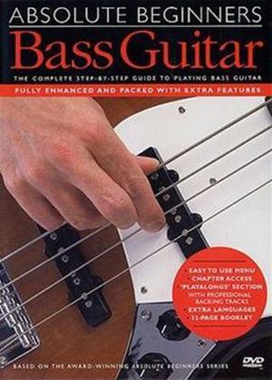 Rent Absolute Beginners: Bass Guitar Online DVD Rental