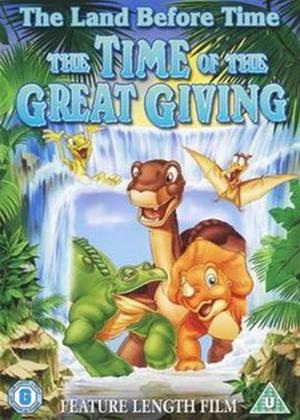 The Land Before Time 3: The Time of Great Giving Online DVD Rental