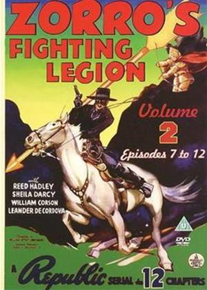 Rent Zorro's Fighting Legion: Vol.2 Online DVD Rental