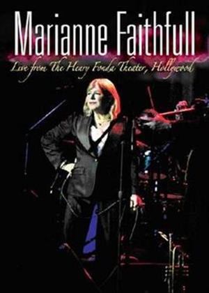 Marianne Faithfull: Live in Hollywood Online DVD Rental