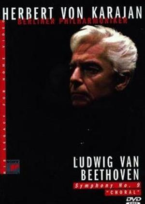 Rent Beethoven: Symphony No. 9: Herbert Von Karajan Online DVD Rental