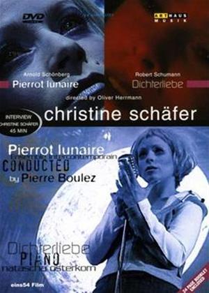 Rent Schoenberg: Pierrot Lunaire / Schumann: Dichterliebe Online DVD Rental