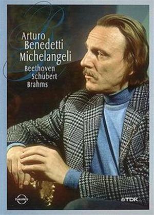Rent Arturo Beneditti Michelangeli: Beethoven, Schubert and Brahms Online DVD Rental