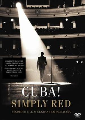 Simply Red: Cuba Online DVD Rental