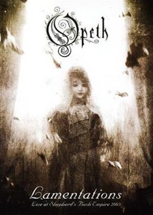 Opeth: Lamentations Online DVD Rental