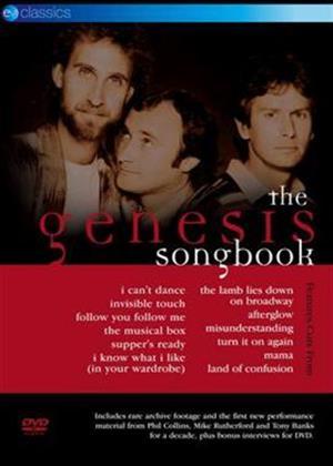 Genesis: The Genesis Songbook Online DVD Rental