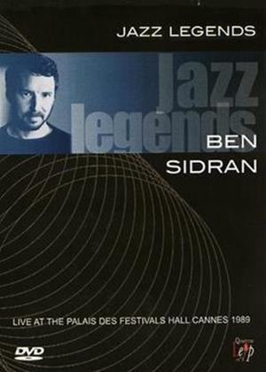 Rent Jazz Legends: Ben Sidran: Live at the Palais Des Festivals Hall Concert Online DVD Rental