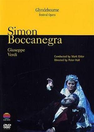 Verdi: Simon Boccanegra: Glyndebourne Festival Opera Online DVD Rental