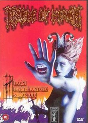 Cradle of Filth: Heavy, Left Handed and Candid Online DVD Rental