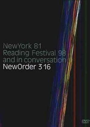 New Order: Live: 3:16 Online DVD Rental