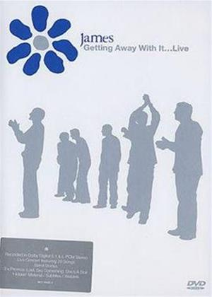 James: Getting Away with It: Live Online DVD Rental