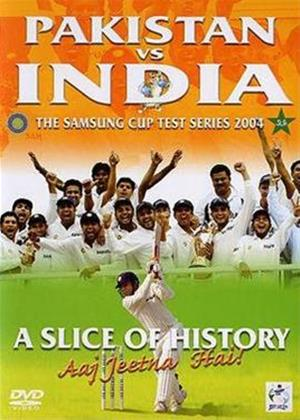 Pakistan Vs India: The Samsung Cup Test Series 2004 Online DVD Rental
