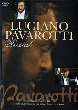 Rent Luciano Pavarotti: Recital Online DVD Rental