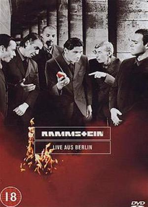 Rammstein: Live Aus Berlin Online DVD Rental