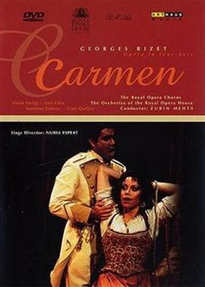 Rent Bizet: Carmen: Royal Opera House (Zubin Mehta) (aka Carmen by Georges Bizet) Online DVD Rental