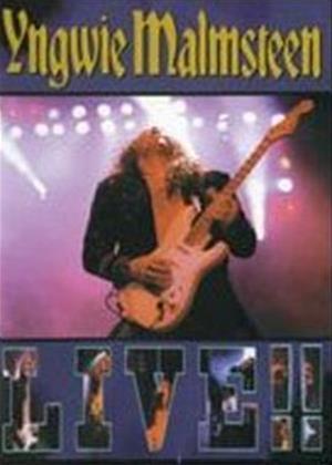Yngwie Malmsteem: Live Online DVD Rental